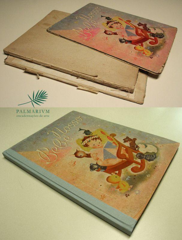 Restauração - Livro Nosso Bebê